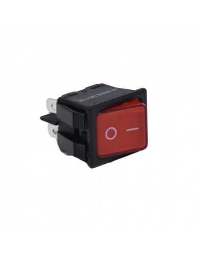 Astoria Wega bipolar switch red