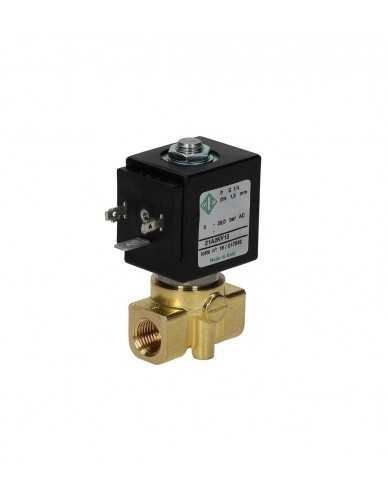 "Ode 2 way solenoid valve 1/4"" 1/4"" 220/230V 50/60Hz DN1,5mm"