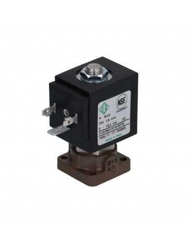 Ode 2 weg magneetventiel 24V 8W pps