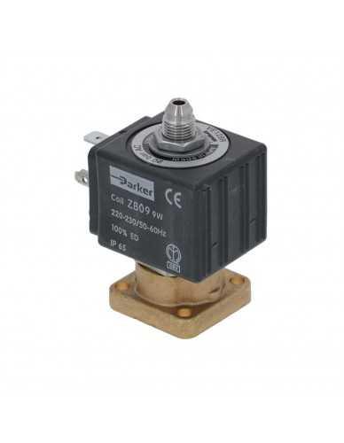 Parker 3 way solenoid valve 220/230V 50/60Hz conical