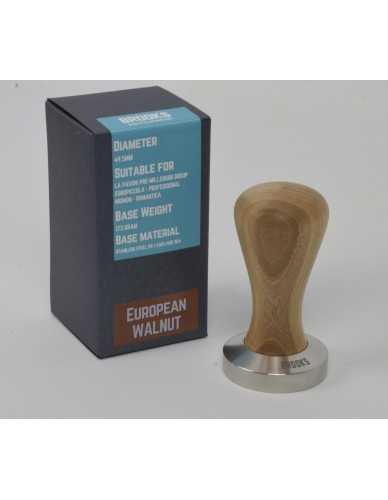 Pavoni pre-millenium tamper 49.5mm European walnut