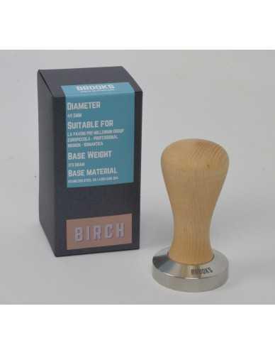 Pavoni pre-millenium tamper 49.5mm Birch