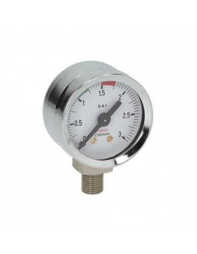 Elektra Microcasa pressure gauge chrome
