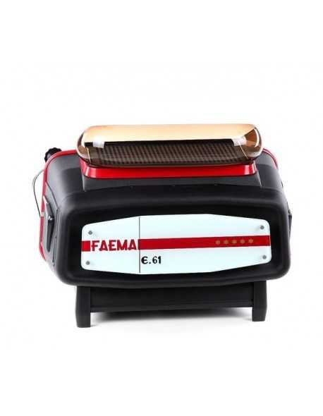 Crackle black Faema E61 espresso machine