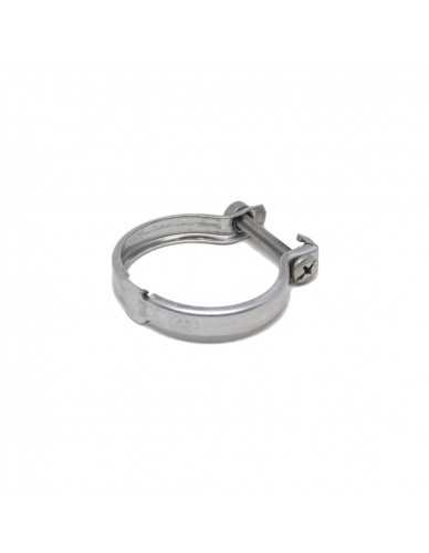 Stainless steel clamp for motor/pump
