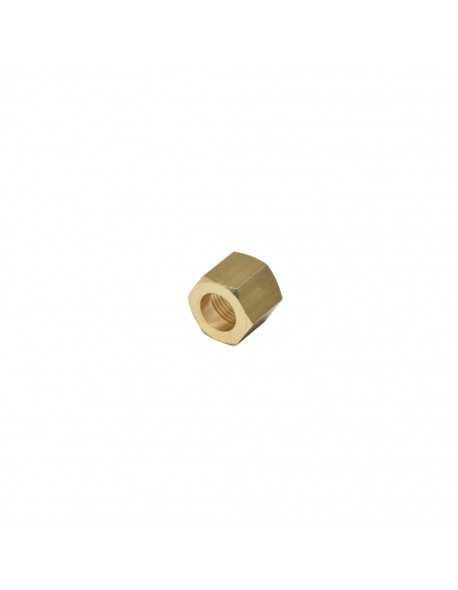 Brass nut 1/8 for 6mm welding cap