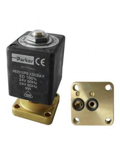 Lucifer solenoid valve 2 way base mounting 220/240V 50/60Hz
