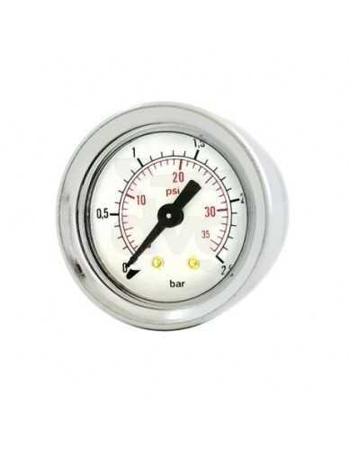 Rancilio boiler manometer 0 - 2.5 bar origineel