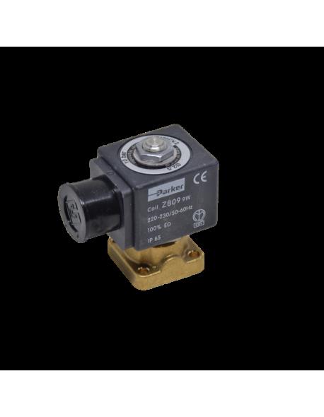 Parker solenoid valve 2 ways base mounting 220/230V 50/60Hz 9W