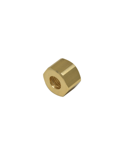 Brass nut 1/2 for 12mm welding cap