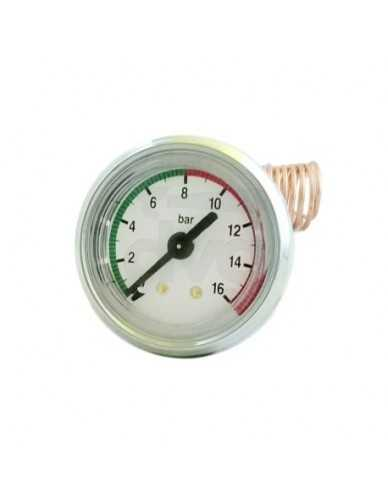 Vibiemme manometer 0 - 16 bar with capillary