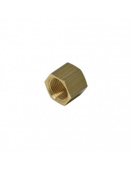 Brass nut 3/8 for 10 mm welding cap