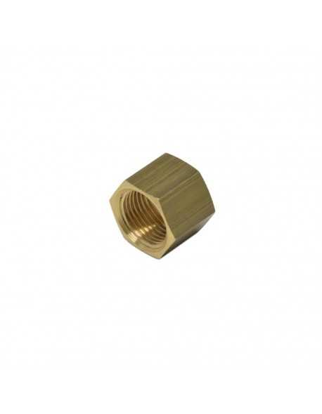 Brass nut 3/8 for 10 mm welding cap