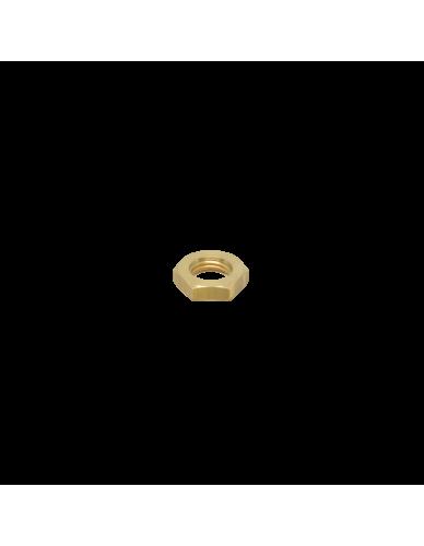 "Brass half nut 1/4"""