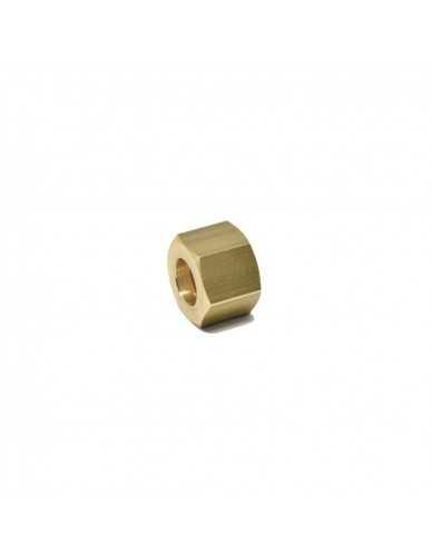 Brass nut 1/2 for 14mm welding cap