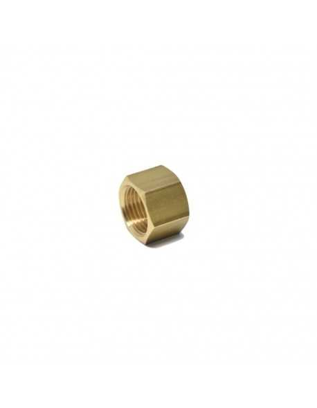 Brass nut 1/2for 14mm welding cap