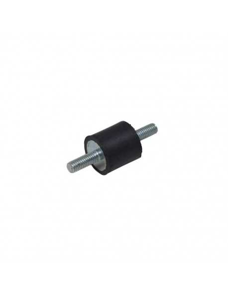 Rubber shock absorber for mounting engine