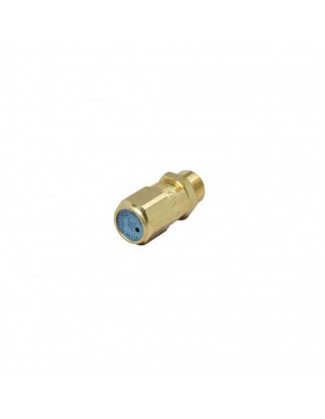 "Safety valve 3/8"" 2.0 bar CE PED IV certified"