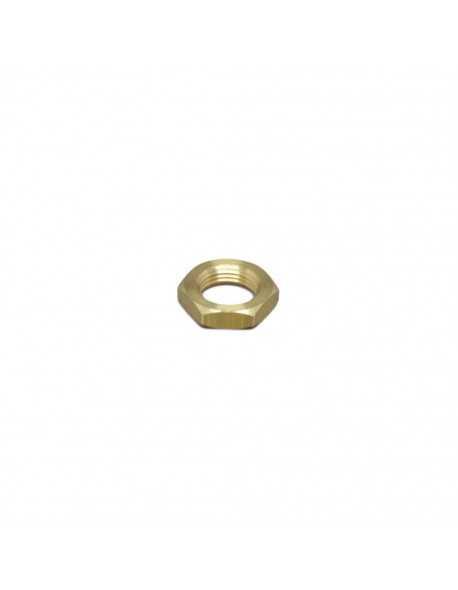 "Brass half nut 3/8"" 6mm hex 24"