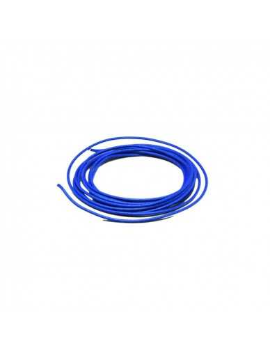Connecting wire per 5m blue
