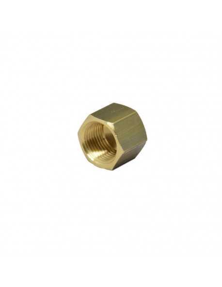 Brass nut 3/8 for 8mm welding cap