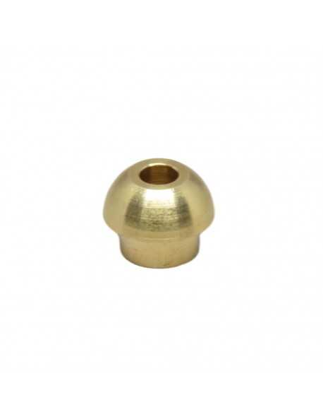 Welding end cap dia 6 mm nut 3/8""