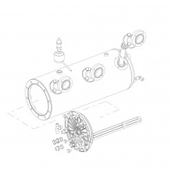 La Pavoni Diamante Leva boiler