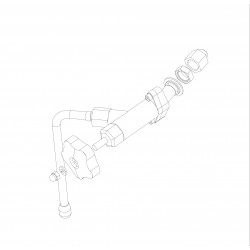 La Pavoni Diamante Leva Steam valve