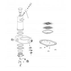 La Pavoni Mignon - Boiler and body