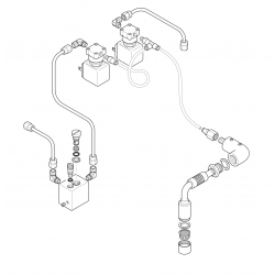 Faema E61 Jubilé - water valve