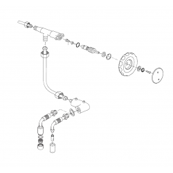 Faema E61 Legend - water valve