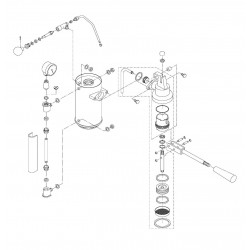 Gaggia Factory G105-G106 - Brewing group