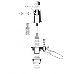 La Cimbali M20 - onderdelen