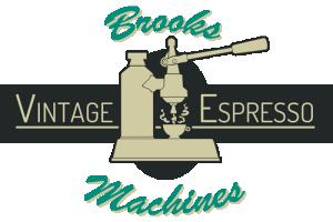 Brooks Vintage Espresso Machines Online Shop