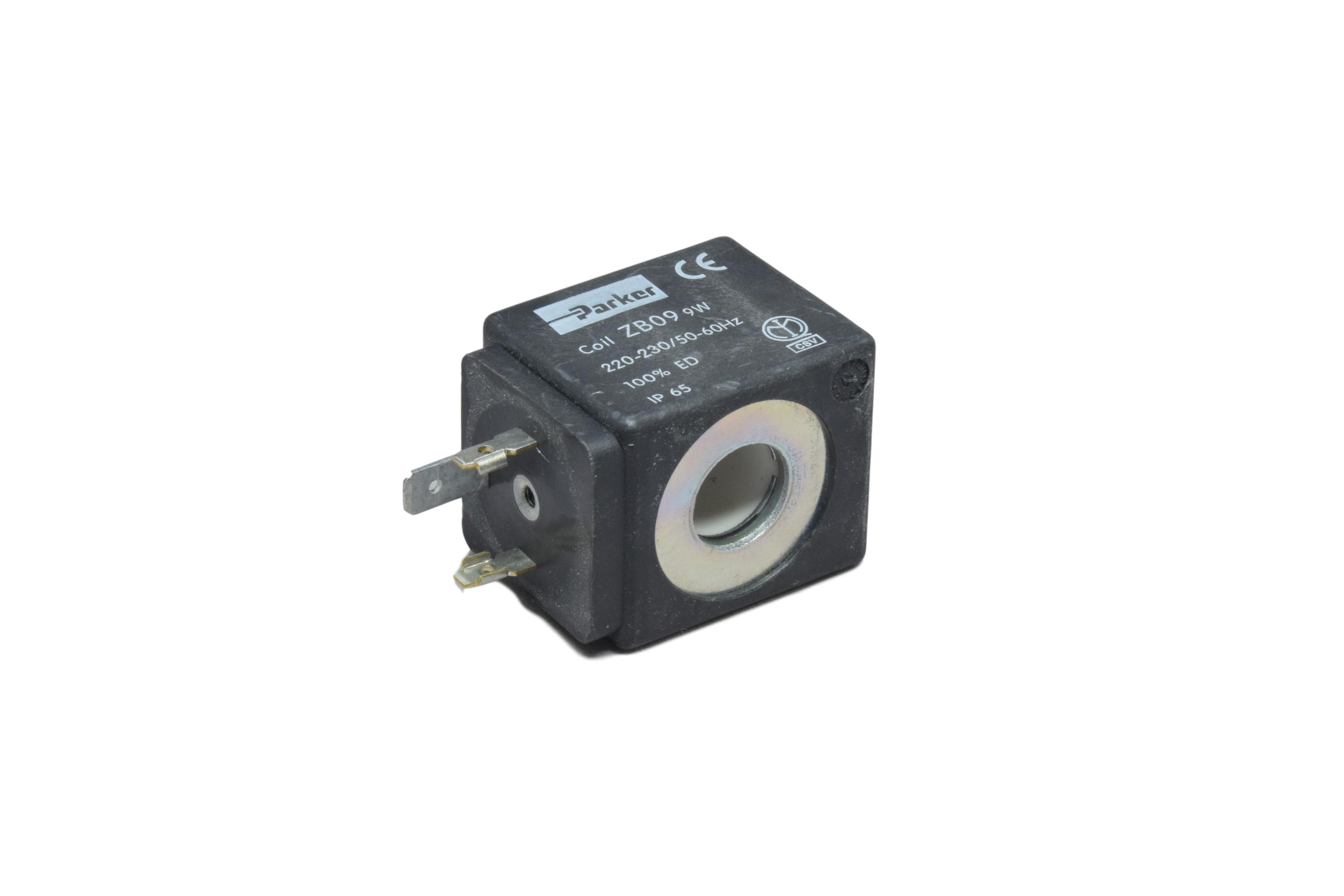 Solenoid valve electronic coil